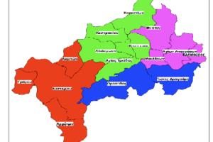 χάρτης Καστοριάς