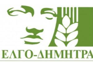 λογότυπο εικόνας με λεκτικό ΕΛΚΓΟ-ΔΗΜΗΤΡΑ