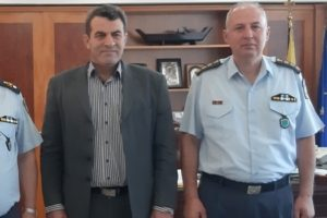 Γενικός Περιφερειακός Αστυνομικός Διευθυντής Δυτικής Μακεδονίας, Ταξίαρχος Θεόδωρος Κεραμάς, Αντιπεριφερειάρχης Καστοριάς Δημήτρης Σαββόπουλος, Διευθυντής της Αστυνομικής Διεύθυνσης Καστοριάς Θωμάς Νέστορας