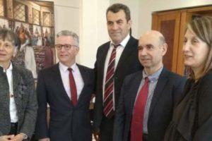 επίσκεψη προξενου Γαλλίας