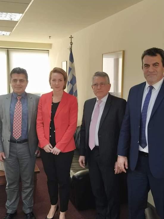 Υπουργείο Περιβάλλοντος και Ενέργειας, Υφυπουργός Γεράσιμο Θωμά και Γ.Γ. Ενέργειας & Ορυκτών Πρώτων Υλών Αλεξάνδρα Σδούκου, Αντιπεριφερειάρχης, Βουλευτής Καστοριάς
