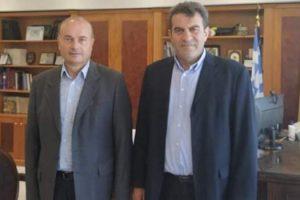 Εκετελεστικός Γραμματέας Γ. Γρηγοριάδης-Αντιπεριφερειάρχης Καστοριάς Δ. Σαββόπουλος