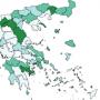 χάρτης γεωγραφικής κατανομής κρουσμάτων covid-19