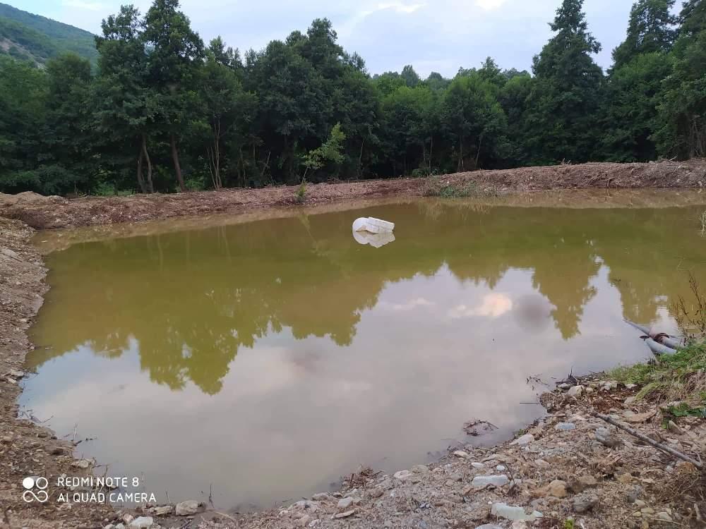δεξαμενή υδρομάστευσης Κρανοχώρι