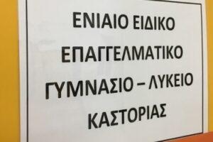 εικόναι απο ενιαίο ειδικό επαγγελμαντικο γυμνάσιο λυκειο Καστοριάς