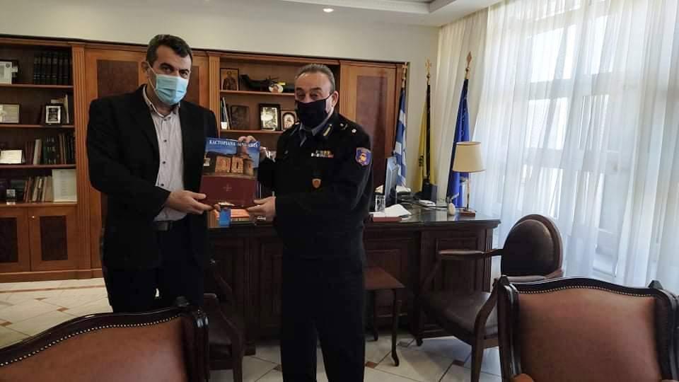 ο νέος Περιφερειακός Δτης ΠΥ Δυτ.Μακεδονίας Σ.Κορέλας,ο Αντιπεριφερειάρχης Καστοριάς Δ. Σαββόπουλος