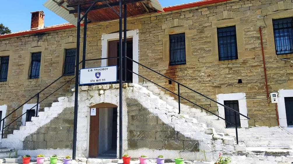 Επίσκεψη στα Φυλάκια για ευχές Πάσχα