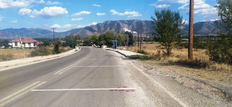 Για πρώτη φορά κατασκευή ηχητικών λωρίδων σε εισόδους οικισμών από την Π.Ε. Καστοριάς.